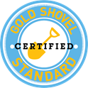 Gold Shovel Standard Certified