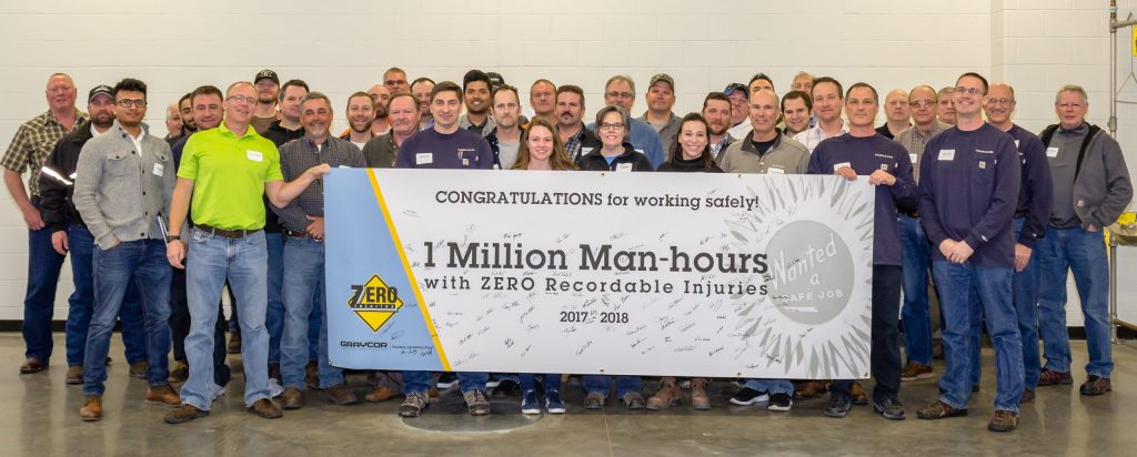 GIC 1 Million Man-hours